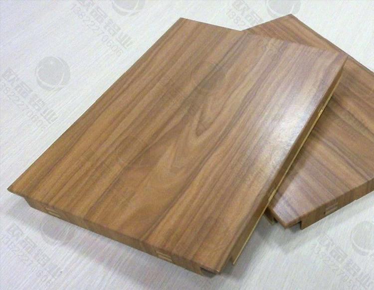 勾搭式木纹铝单板